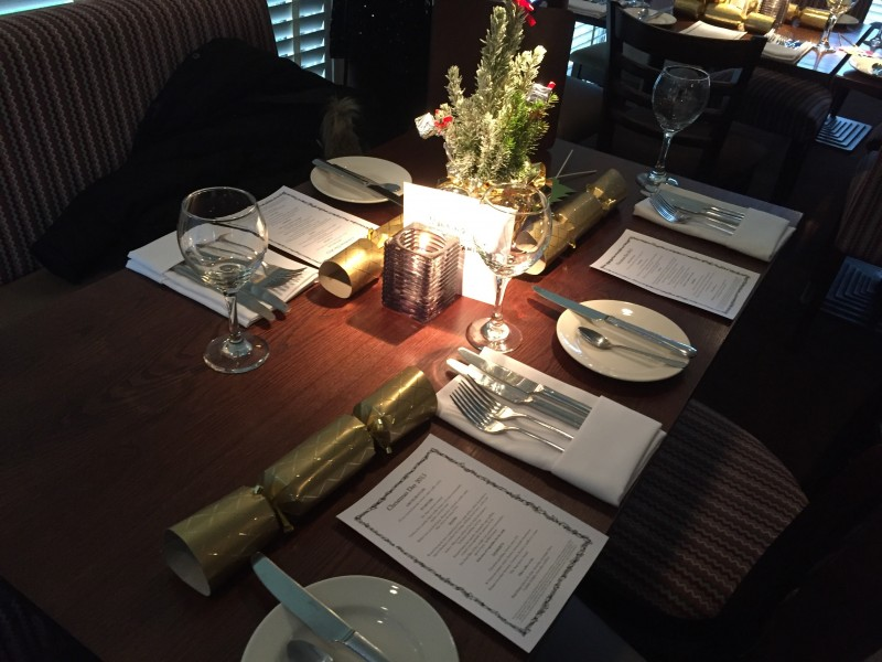 Christmas lunch at The Stag at Offchurch