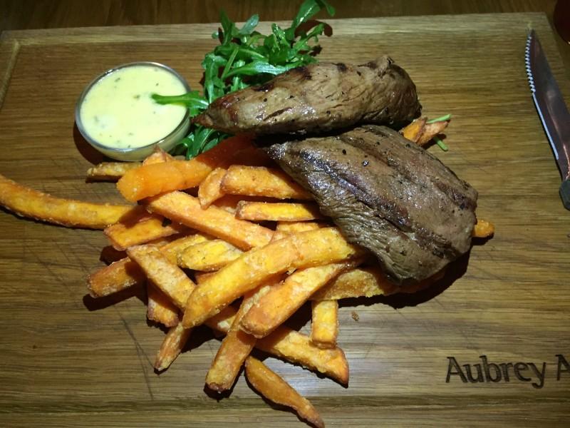 'Spider steak' at Star & Garter, Leamington Spa