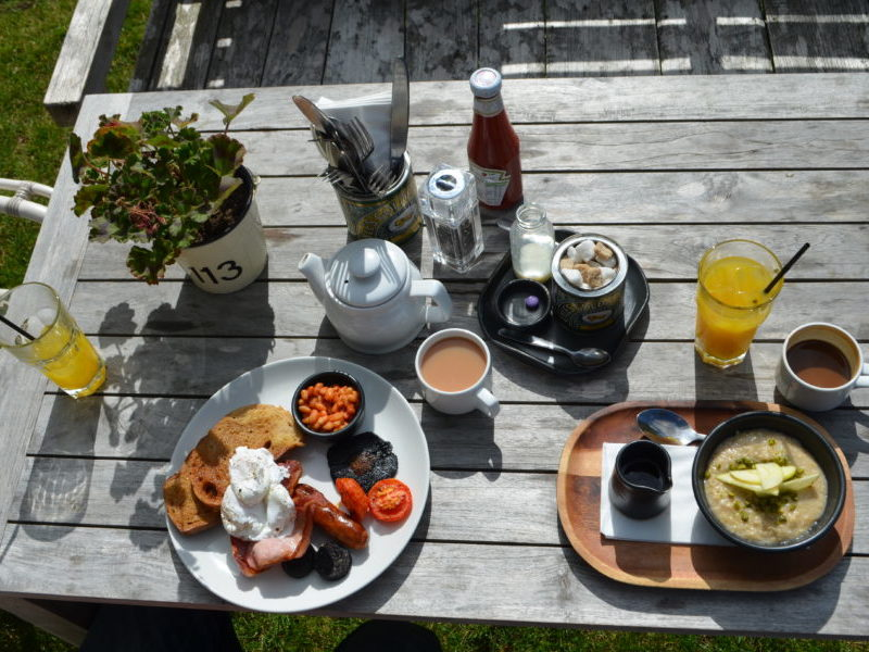 Breakfast at the High Field, Edgbaston