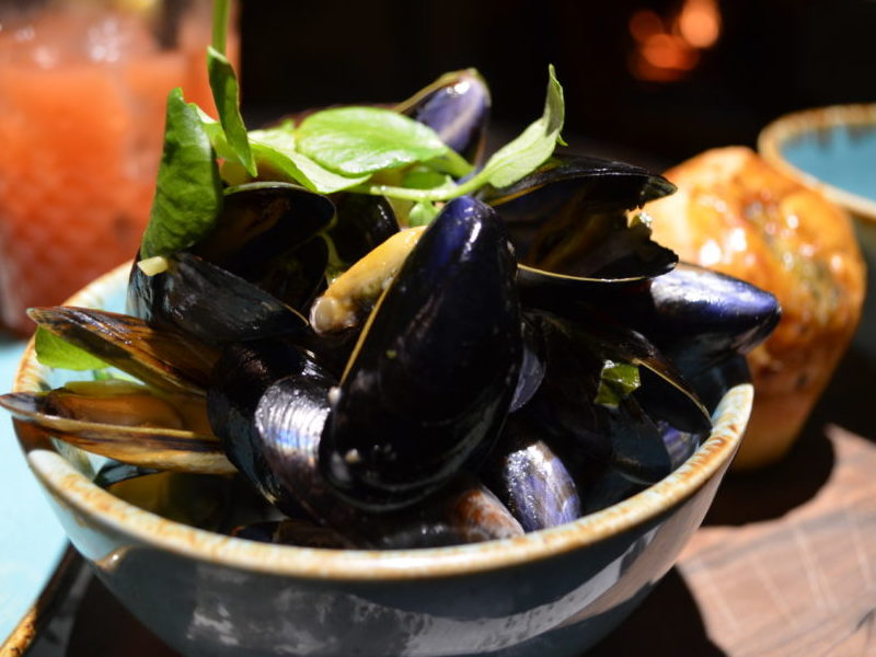 Mussels starter at Mill Street Pub and Kitchen, Oakham