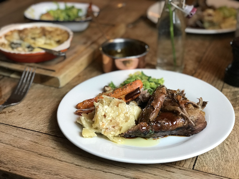 Romney Marsh lamb at the Corner House, Minster