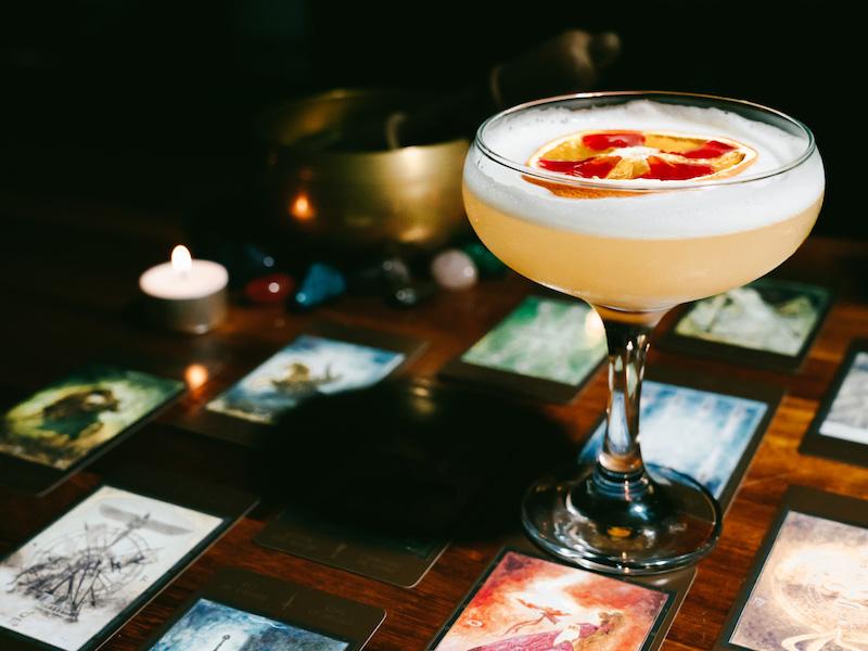 Cocktails at Cafe Vin Cinq, Rugby