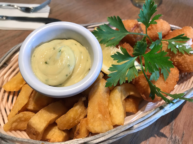 Scampi at The Cornish Arms, St Merryn