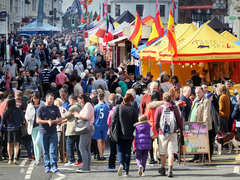 Stratford Town Centre Food Festival
